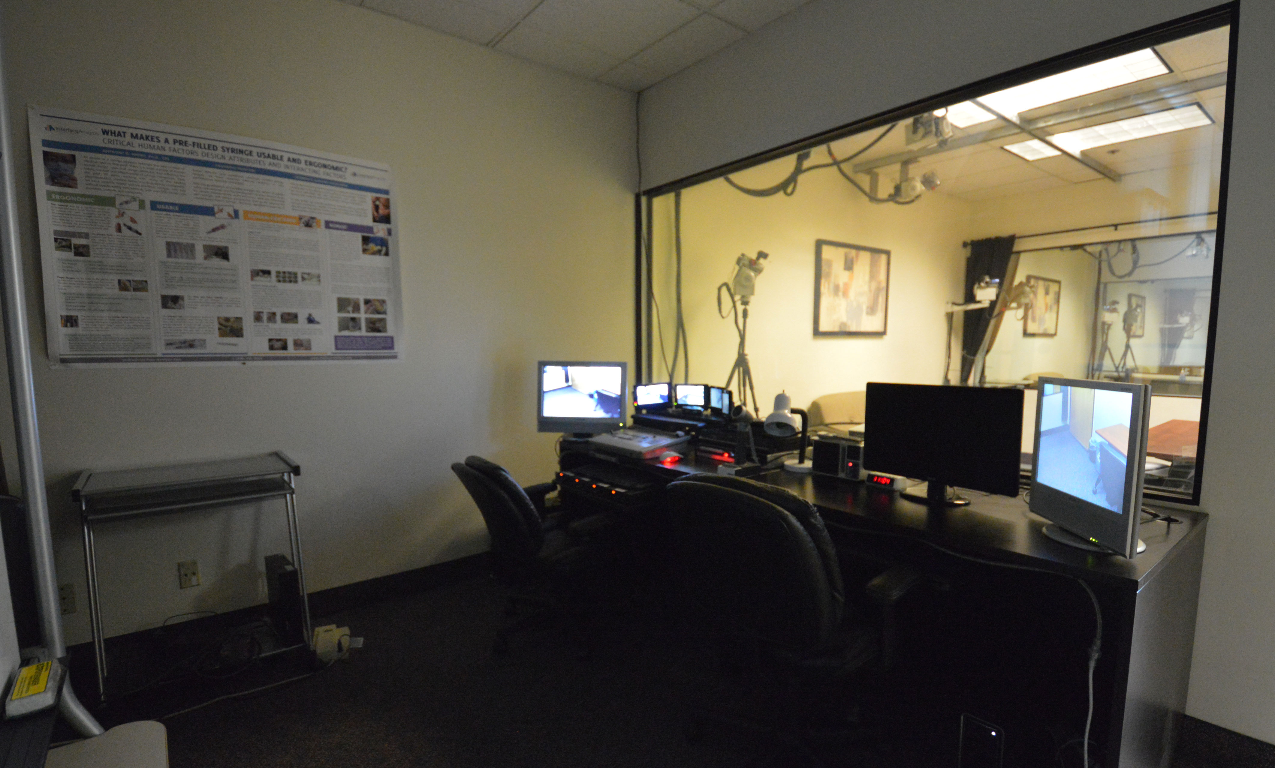 Saratoga Testing Facilities - AV Room
