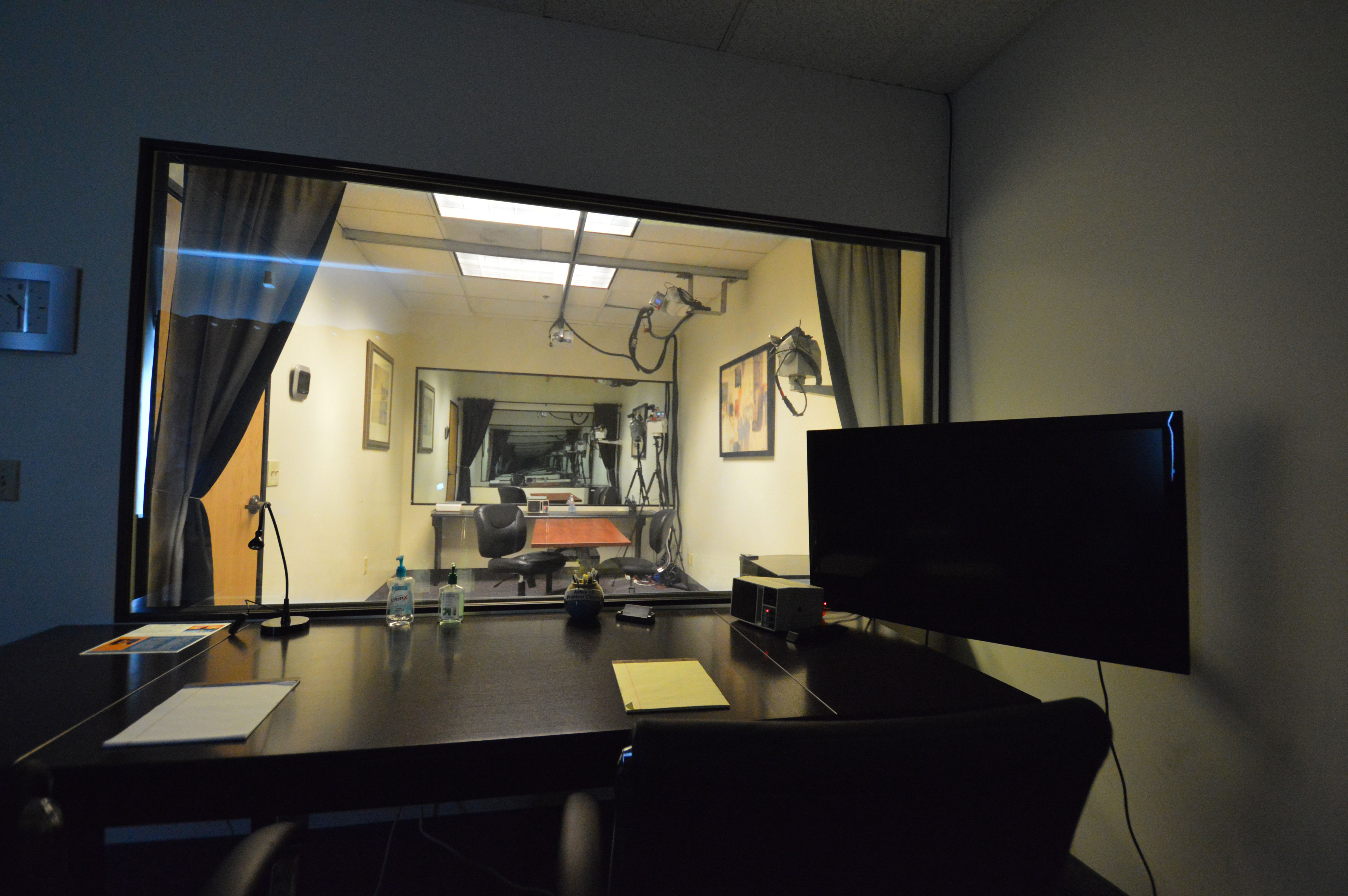Saratoga Testing Facilities - Clients Observation Room